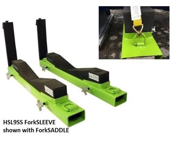 FORKSLEEVE FORKLIFT ATTACHMENT