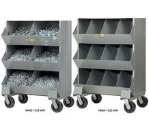 ALL-WELDED MOBILE STORAGE BINS